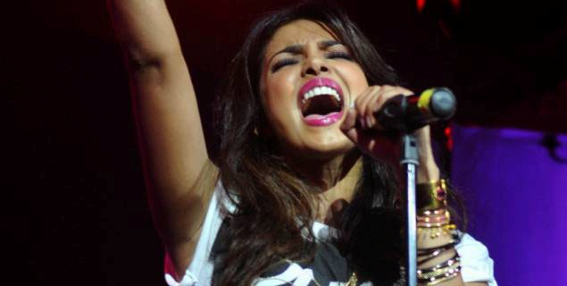 Priyanka Chopra Singing