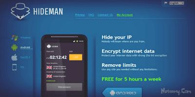 تطبيق-Hideman-VPN