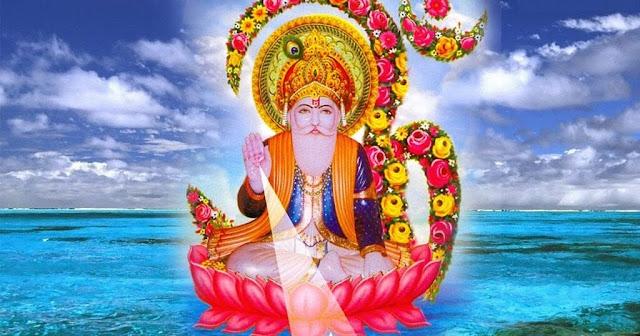 Lord Brahma Om HD Wallpaper