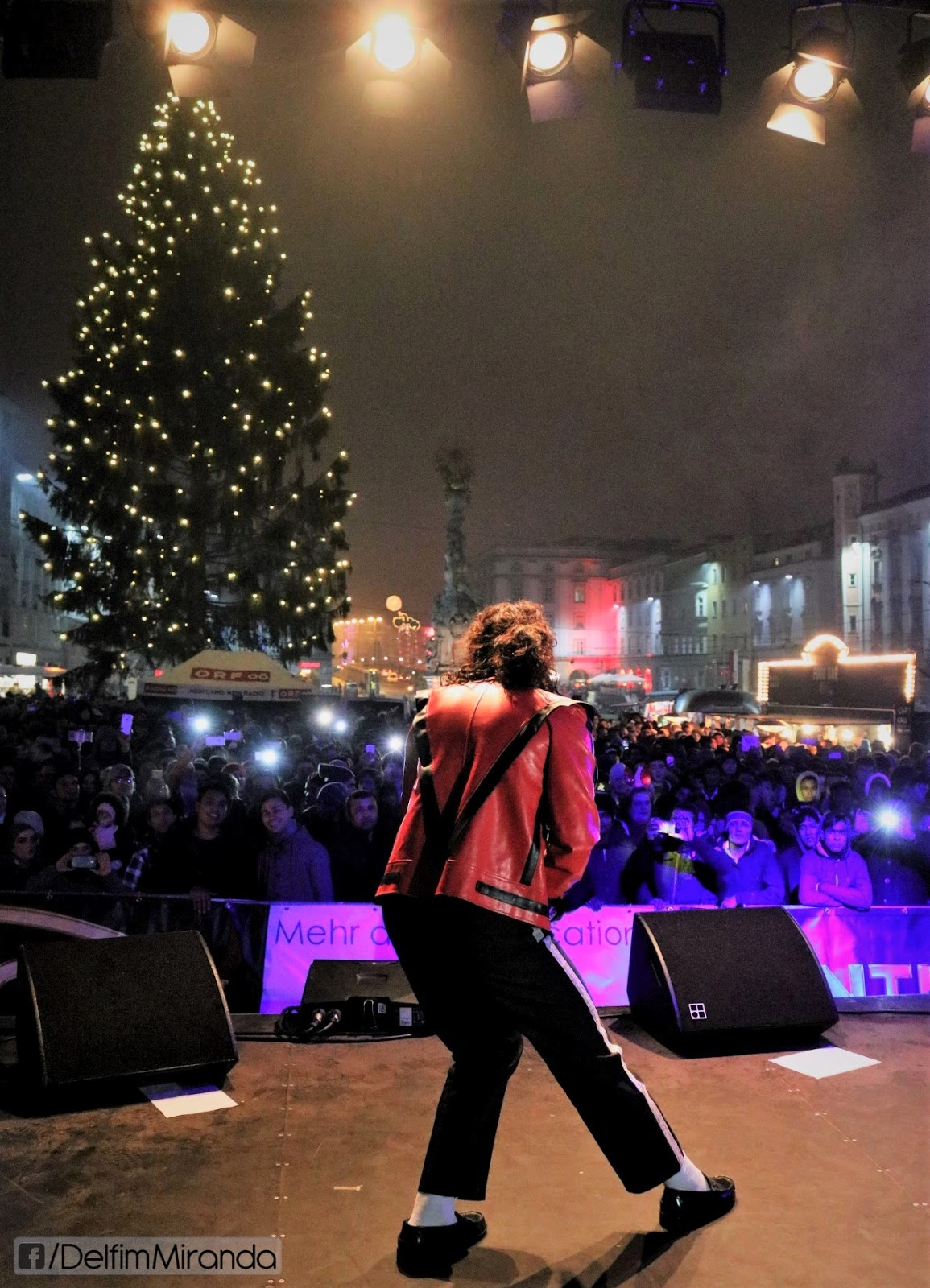 Delfim Miranda - Michael Jackson Tribute - Thriller - Live in Austria - New Years Eve