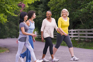 Walking Improves Brain Activity