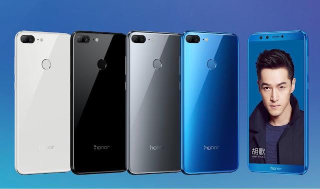 Honor 9 Lite Meluncur dengan Kamera Ganda Depan Belakang