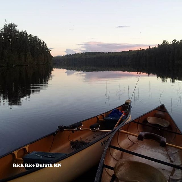 Canoes? Must be Northeast Minnesota Image by Rick Rice
