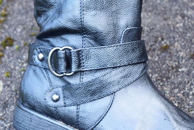 Next Black Forever Comfort Mid-Length Boots Detail