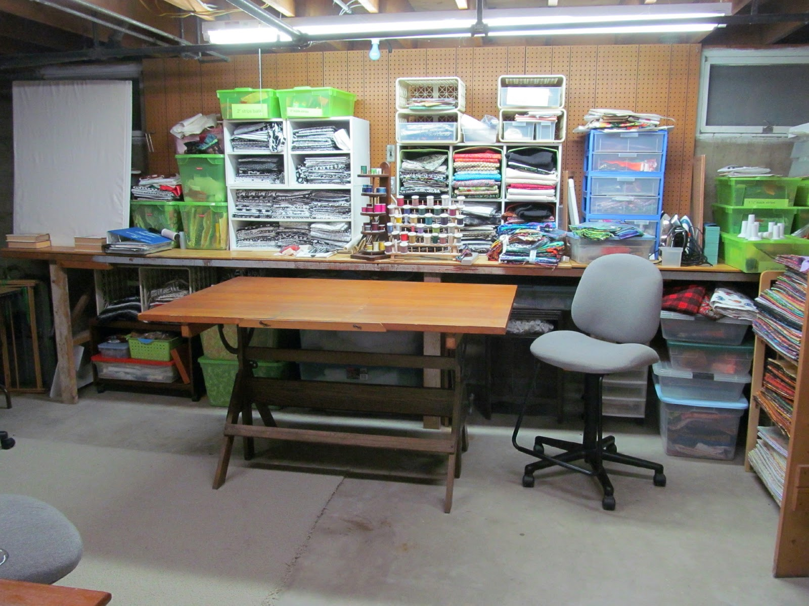exuberant color the new set up & Drafting Table Set Up. set up table manner table designs. my studio ...