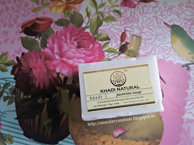 The Khadi Naturals Jasmine Soap Review