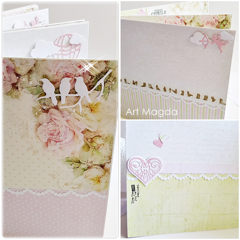 ArtMagda Handmade, albumy ręcznie robione, album na ślub