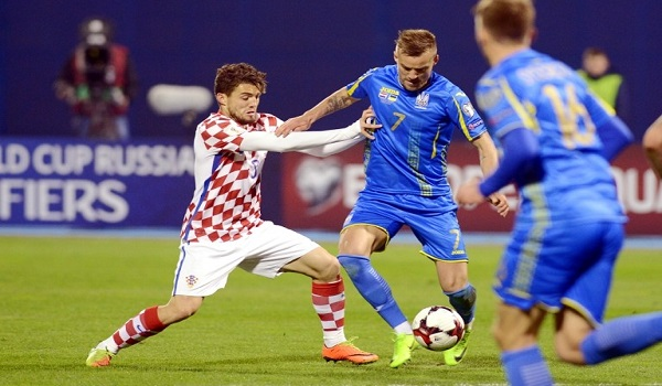 Prediksi Ukraina vs Kroasia Kualifikasi PD 2018
