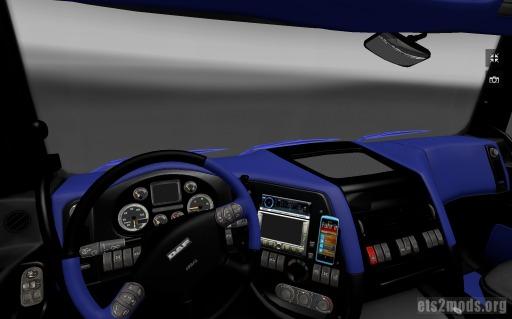 DAF Schwarz Blue Interior v2.0