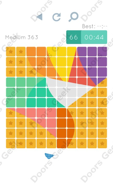 Cheats, Walkthrough for Blocks and Shapes Medium Level 363