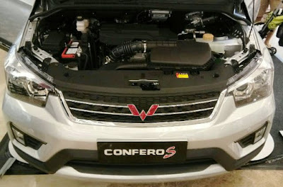 Mesin Wuling Confero S
