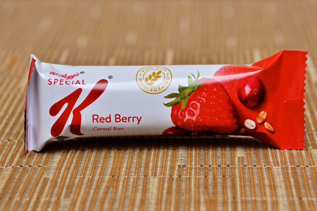 Barres Special K Fruits Rouges - Bars Special K Red Berry - Fraise - Strawberry - Kellogg's - Barres de céréales - Cereal bars - Snack - Special K