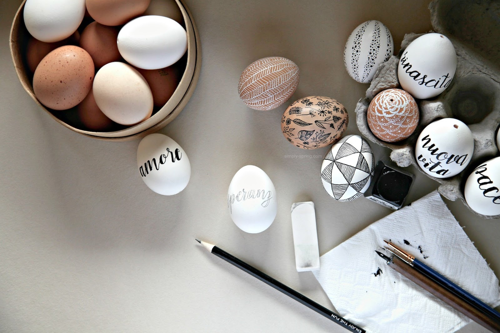 How To Easter Egg Lettering Simply Spring