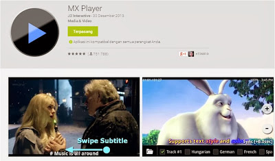 Cara Menampilkan Subtitle Video Pada Android