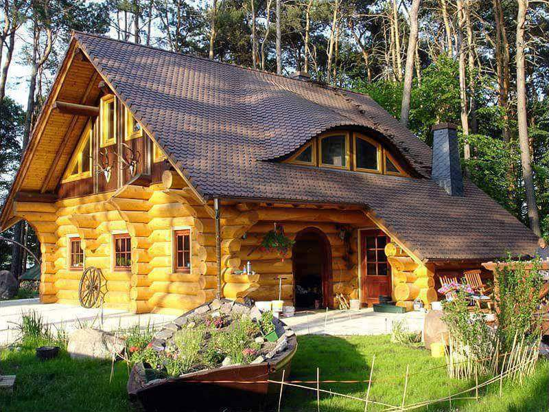 """Wooden house is a traditional home's. It's very popular and modern in other country. These house are made of wood materials, they could design like an ordinary house but it's beautiful and unique. If you're dreaming to have this kind of house you would definitely like the following """"Unique Traditional Wooden House"""". Check this out and choose your favorite design."""