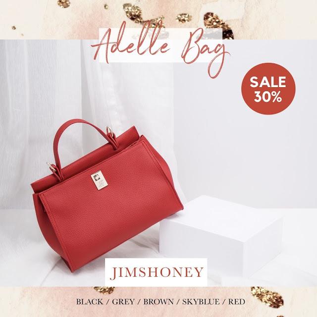 Jims Honey Adele Bag Red