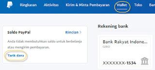 tarik dana dari paypal ke rekening bank local