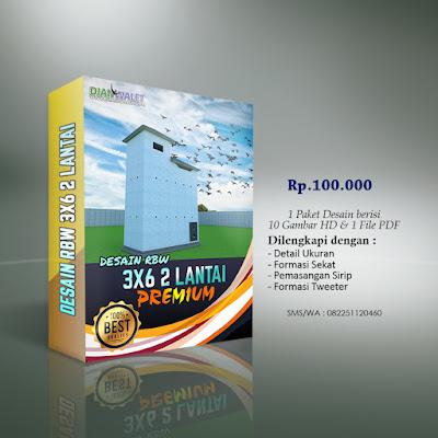 Desain Bangunan Walet 3x6 2 Lantai Premium