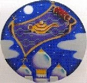 STITCH GUIDES HERE                            (Flying Carpet ornament by Rebecca Wood)
