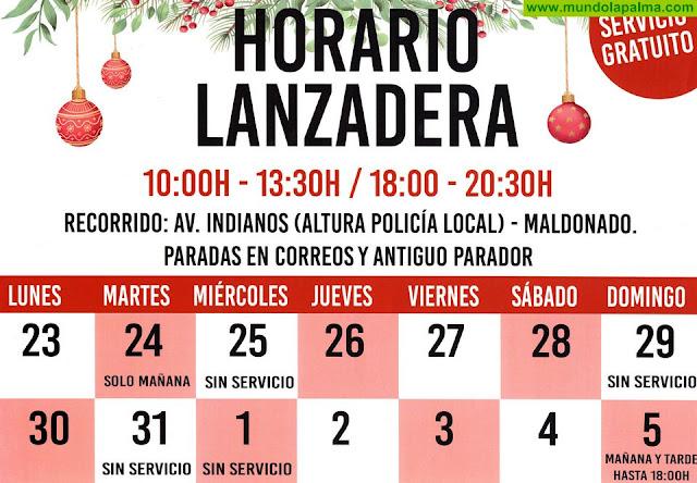 El Ayuntamiento de Santa Cruz de La Palma habilita una lanzadera gratuita para las fiestas navideñas