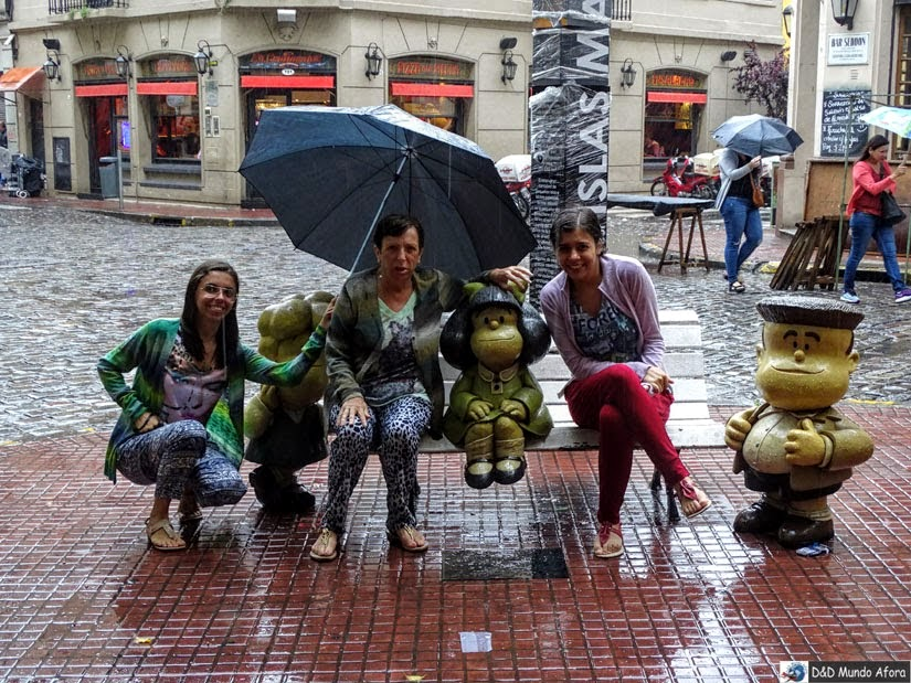 O que fazer em Buenos Aires - Mafalda