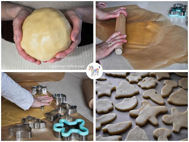 Печем печенье вместе с Хрустиком