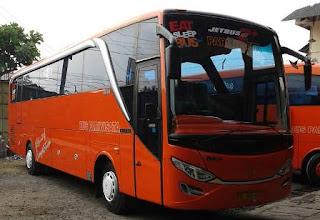 Rute dan Tarif Bus Rejeki Baru Super Executive jurusan Jakarta, Yogyakarta, Magelang, Wonosobo.