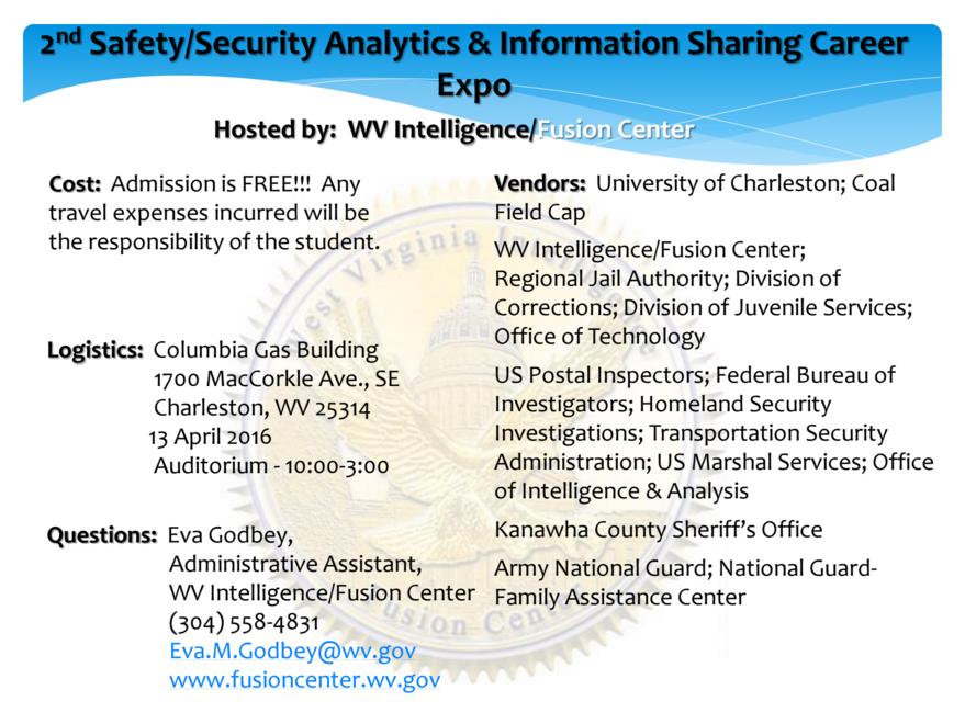 Ccjs Undergrad Blog 2nd Annual Safety Security Analytics