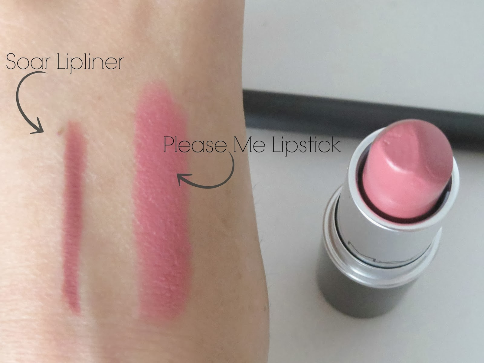 mac please me lipstick review swatches beauty and the chic