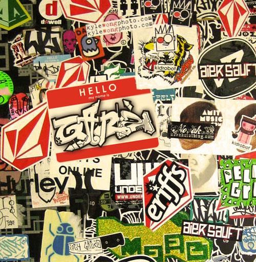 Custom writing companies wall stickers