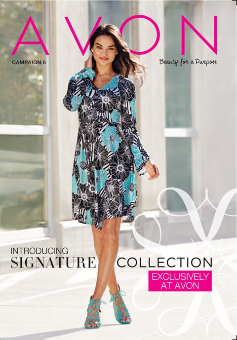 Avon Campaign 8 Catalog good through 4/1/16