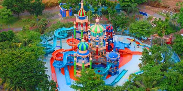 ciputra waterpark surabaya sinbad playground