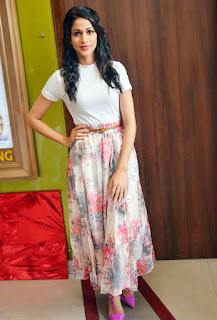 Lavanya Tripathi in cute skirt and white top Spicy pics