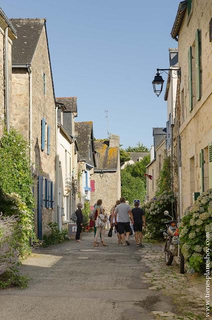 Auray viaje turismo Bretaña y Normandía