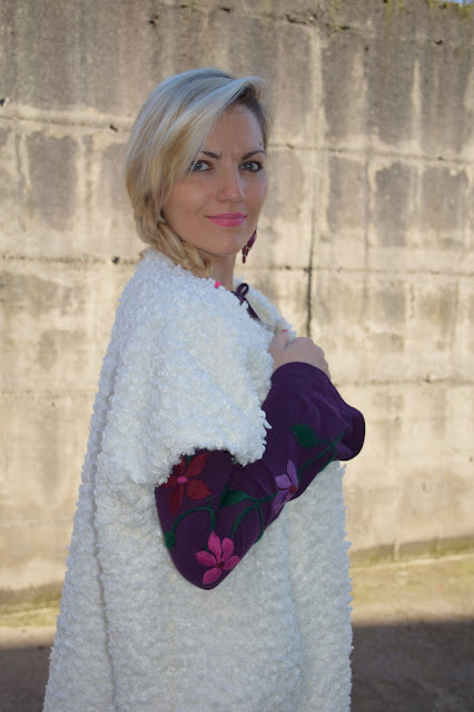 mariafelicia magno fashion blogger colorblock by felym fashion blog italiani blogger di moda italiane web influencer italiane outfit italian fashion blogger italian web influencer maglia manica con ricami embroidered sweater