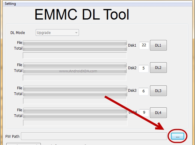 How To Use eMMC DL Tool To Flash Stock Firmware Android - သံဖြူ