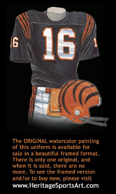 Cincinnati Bengals 1981 uniform