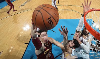 Cedi Osman Cleveland Cavaliers - Oklahoma City Thunder