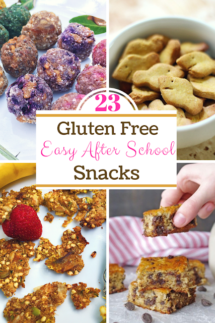23 Gluten Free and Easy After School Snacks