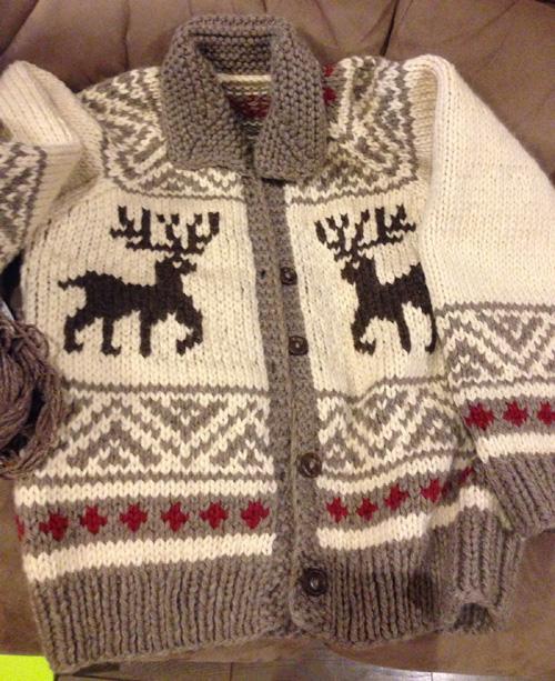 Cowichan Jacket - Free Pattern