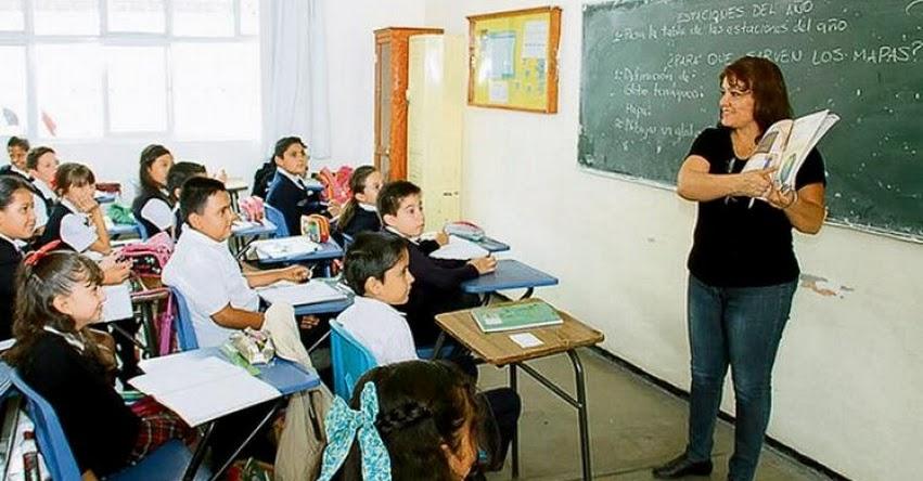 MINEDU: Sueldo mínimo de maestros será de S/ 2.400 el próximo año, informó la Ministra de Educación, Flor Pablo Médina