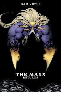 """Cómics: Regresan los cómics de """"The Maxx"""" de Sam Kieth"""