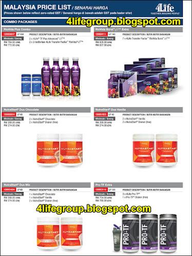 foto Senarai Harga 4Life Malaysia (GST kadar Sifar - 0%) (5)