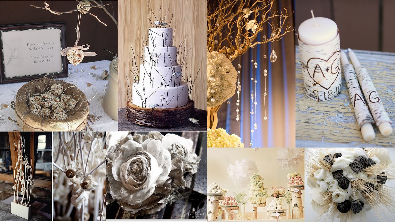 Country Sugar Events: Gorgeous Rustic Winter Wedding ...