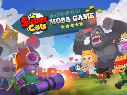 Super cats Apk Free on Android Game Download