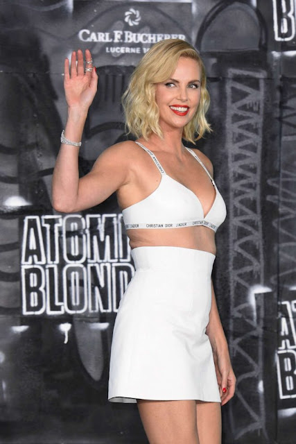 Charlize Theron – Attends 'Atomic Blonde' Premiere in Berlin