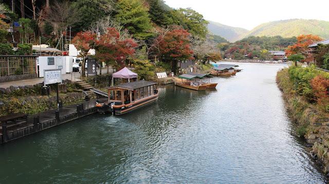 Arashiyama river