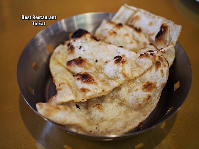 Royal Darbar Restaurant Buffet Buttered Naan