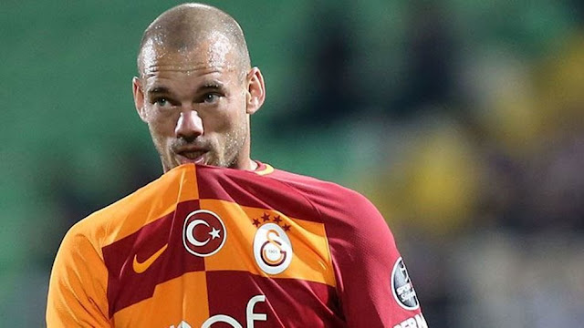Wesley Sneijder: Galatasaray'da güzel zamanlar geçirdim