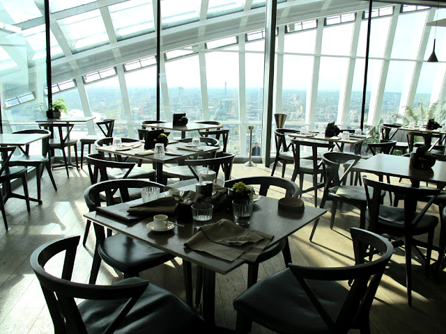 Darwin brasserie - Sky Garden, London brunch